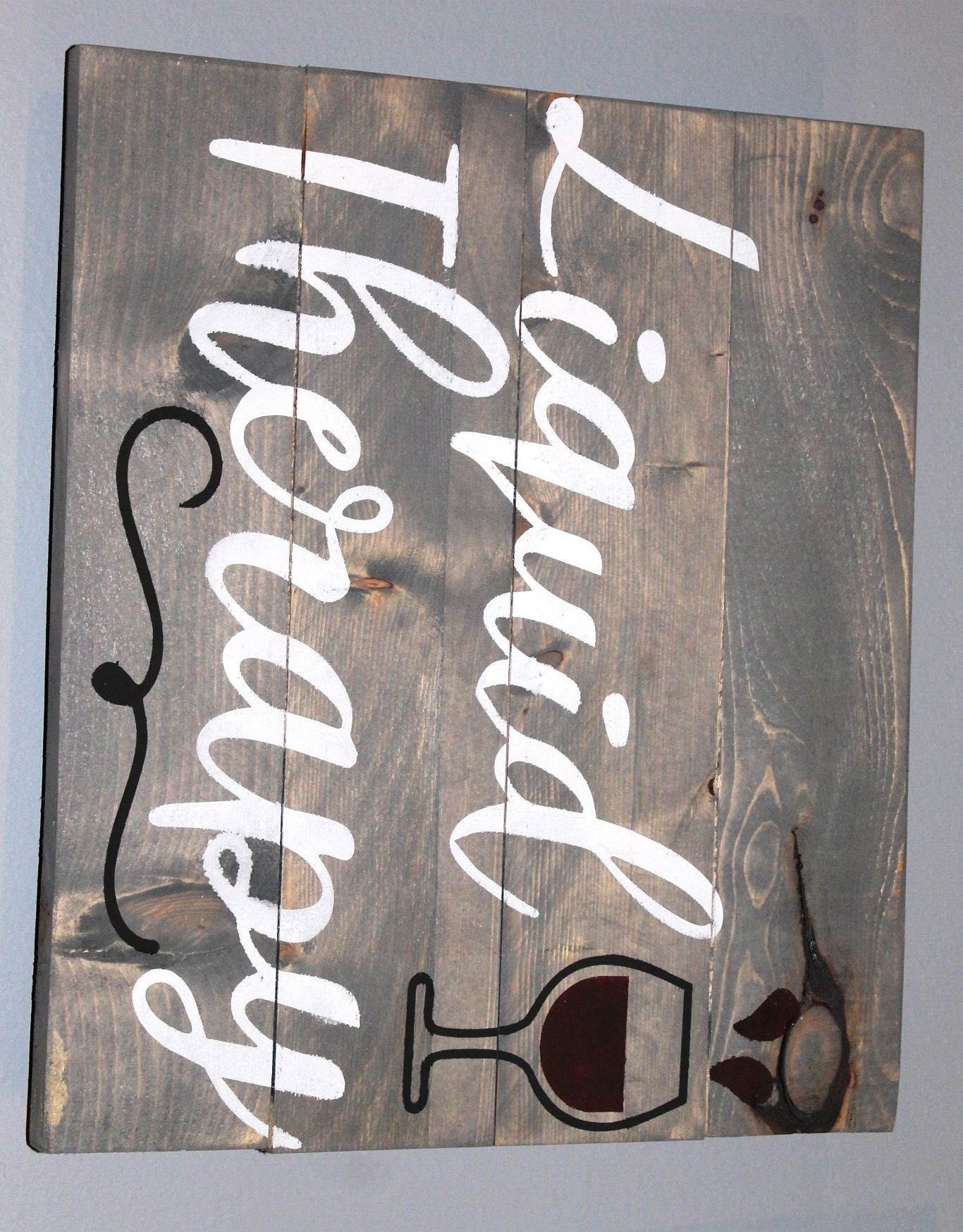 Plank wood sign projects